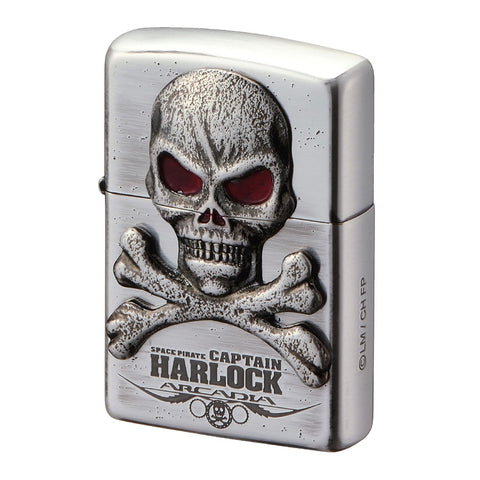 Zippo Lighter Space Pirate Captain Harlock Arcadia Figure Head Design