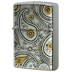 Zippo Lighter Electroformed sheet PAISLEY Design