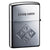 Zippo Lighter Game Series Playing Card Both Side Design Silver Smoke