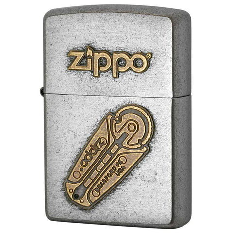 Zippo Lighter Classic Flint Design Old Finish