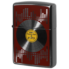 Zippo Lighter Music Fan Record board design BK2-104a