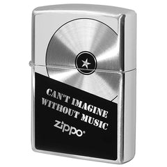 Zippo Lighter Music Fan Record board design SV2-103a