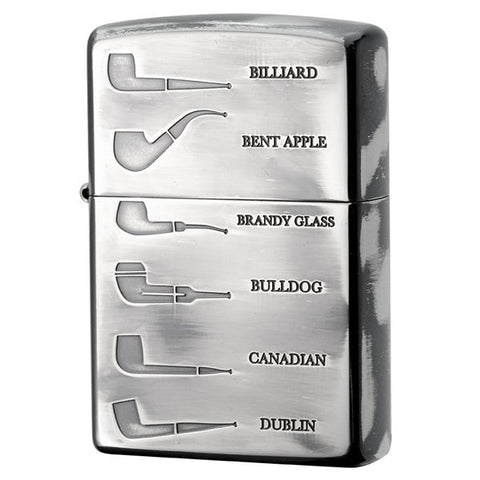 Zippo Lighter for Pipe PL Shape Both Sides Design