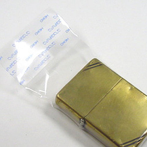 Zippo Lighter Protection Clear Packing 100 sheets