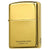 Armor Japan Zippo Lighter Titanium Coating Gold 16-GOTT