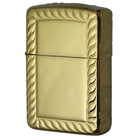 Armor Zippo Lighter 5-sided Sculpture Titanium Coating 5NC-ROPE(B)