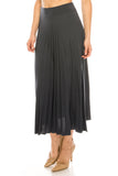 Pleated Midi Skirt - DSP
