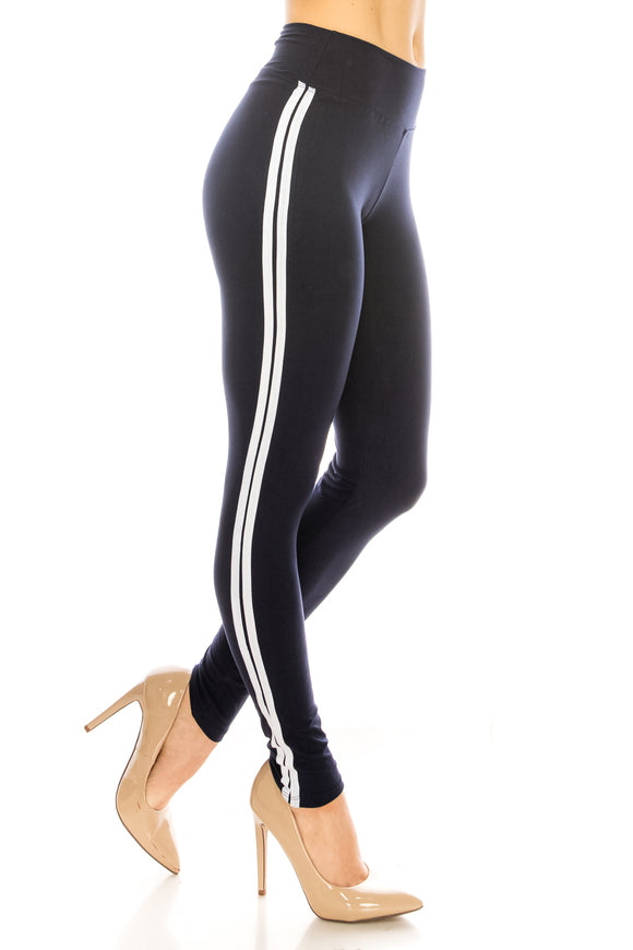 Striped Yoga Leggings - $4.25