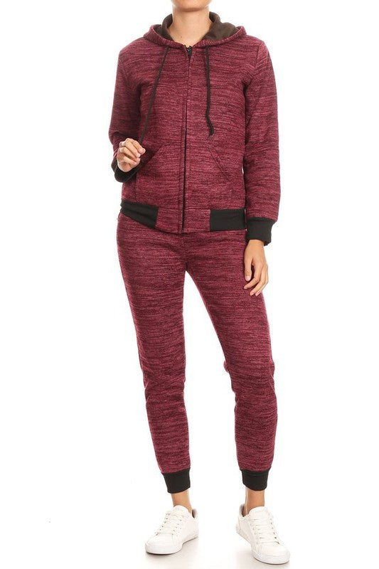 WY78 Fleece Jogging Suit - $13