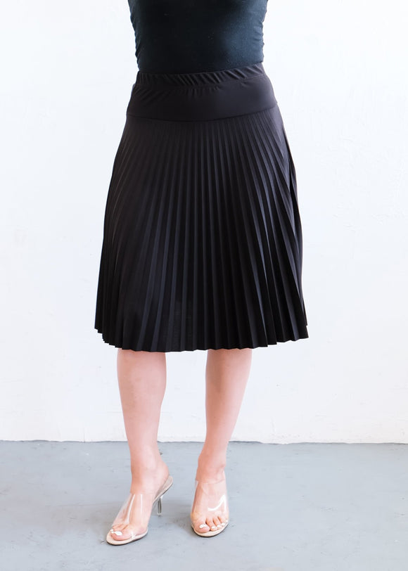 D-003SK - PLEATED SKIRT - $9