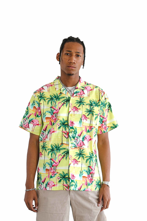 FLAMINGO RESORT SHORT SLEEVE