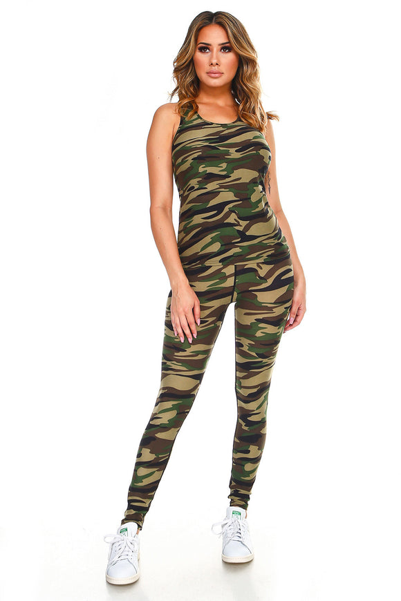 JIN02 - Camo Legging Set - $7.50
