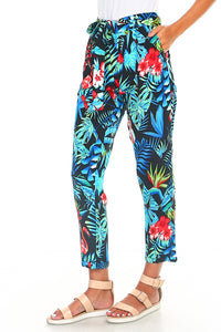 Paradise Tie Up Pants