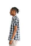 WHITE BUFFALO PLAID SHORT SLEEVE - $14