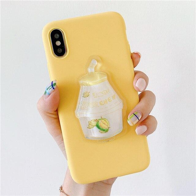 Durian Milk Liquid Phone Case Apple - Asmr geek