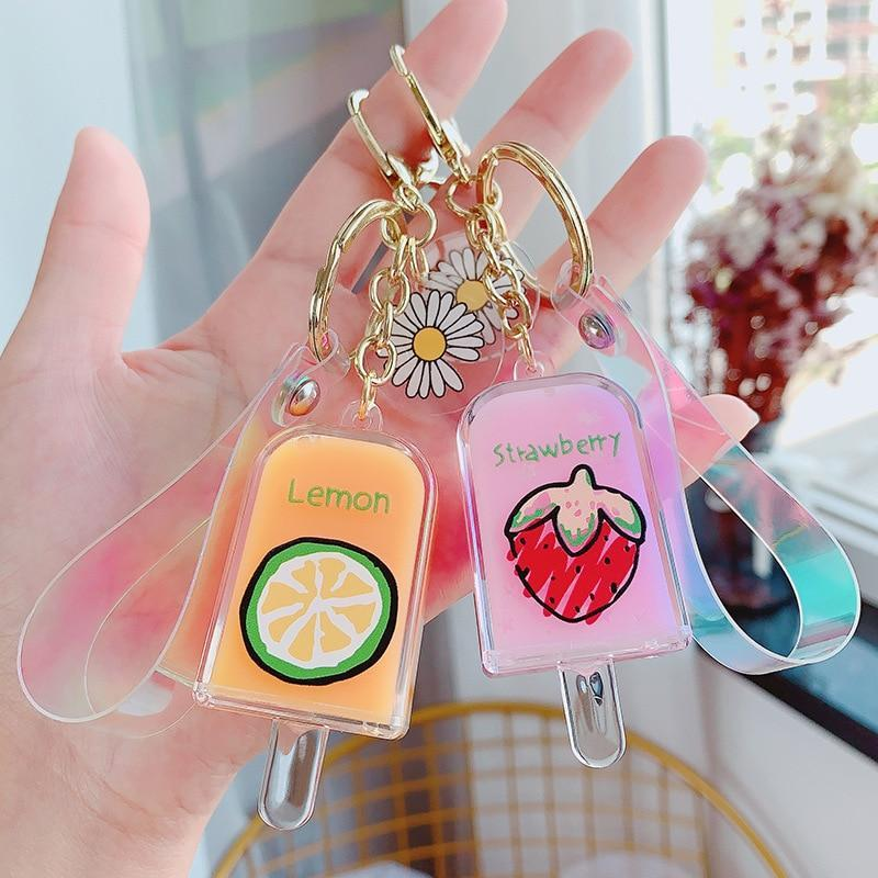 Fruity Liquid Popsicle Keychains - Asmr geek