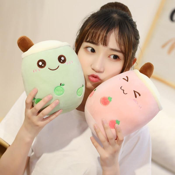 Kawaii Milk Tea Plushies - Asmr geek