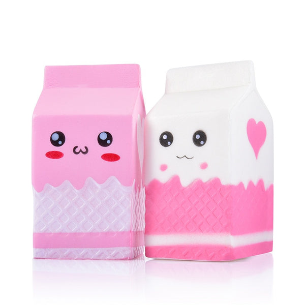 Milk Carton Slow Rising Squishies