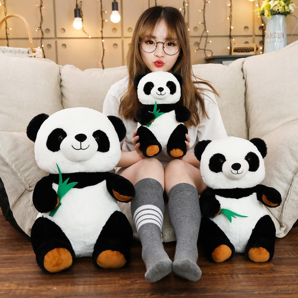 Cute Cartoon Panda / Bamboo Plushie - Asmr geek