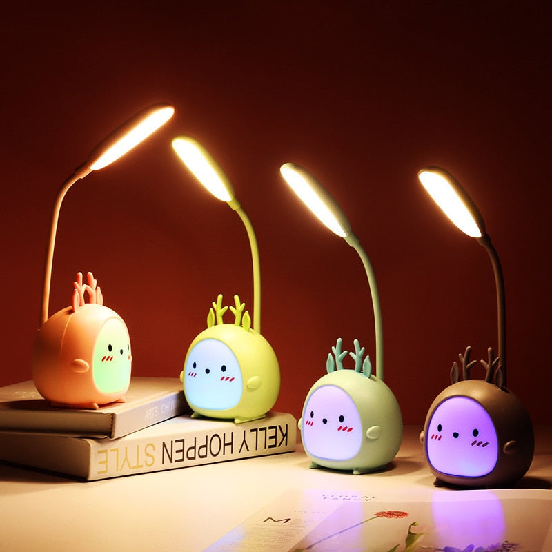 Colorful Reindeer Rechargeable Night light - Asmr geek