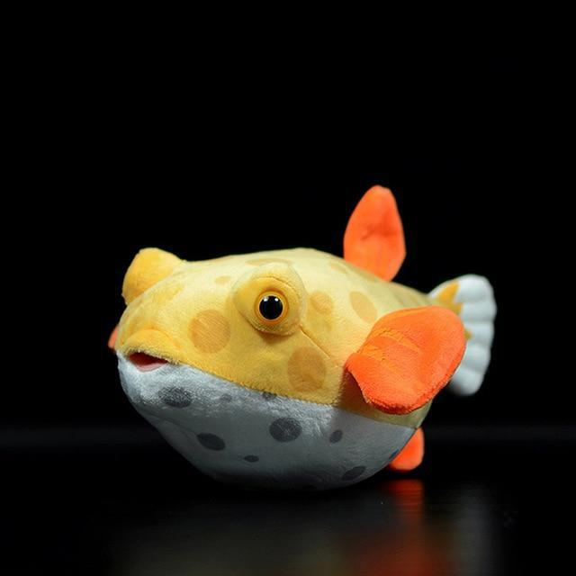 Real Life Boxfish Plushy - Asmr geek