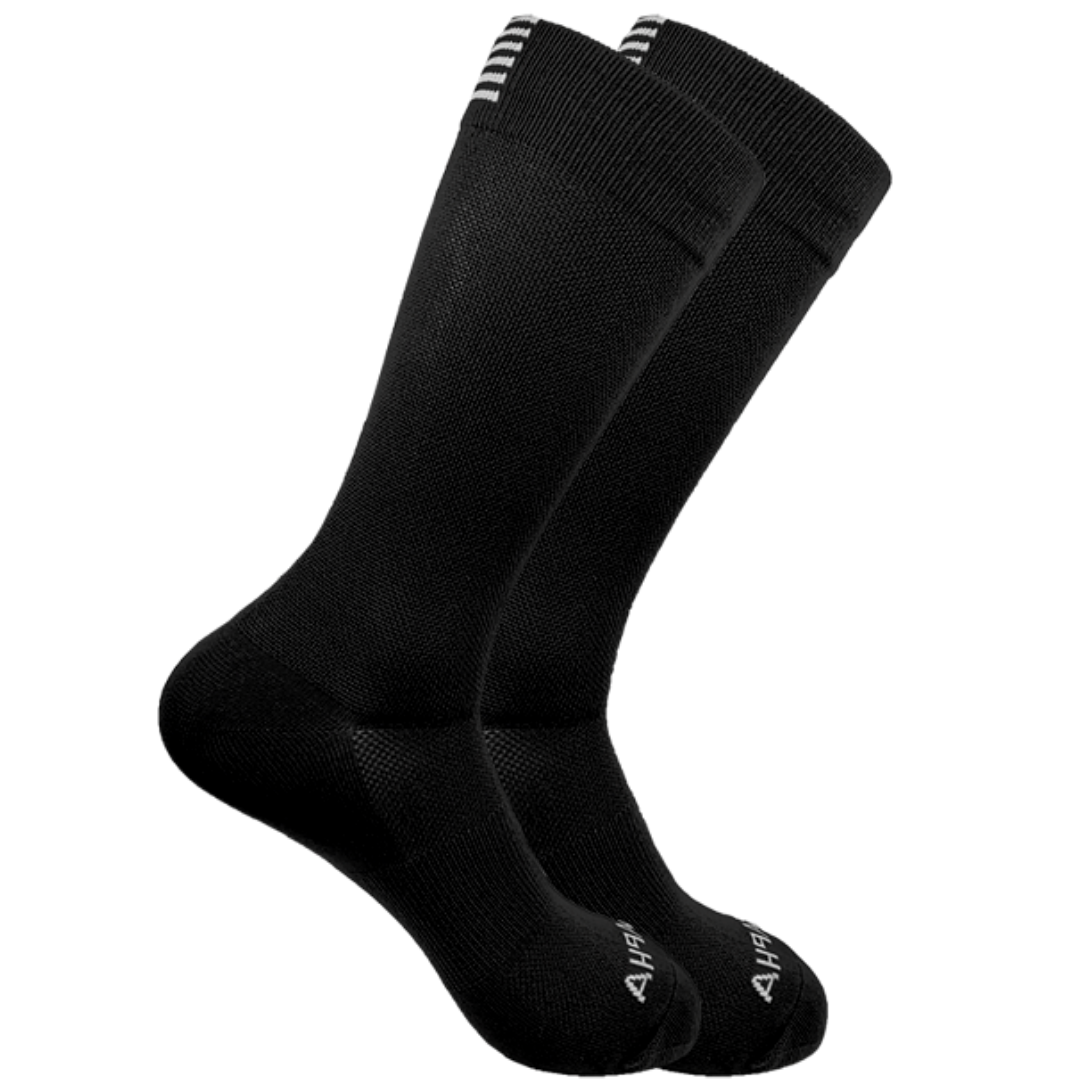 SqueezeGear Ankle Compression Socks (Black) - SqueezeGear