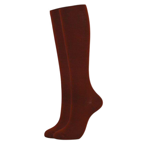 Brown Compression Socks for Men and Women 15-20 mmHg - SqueezeGear