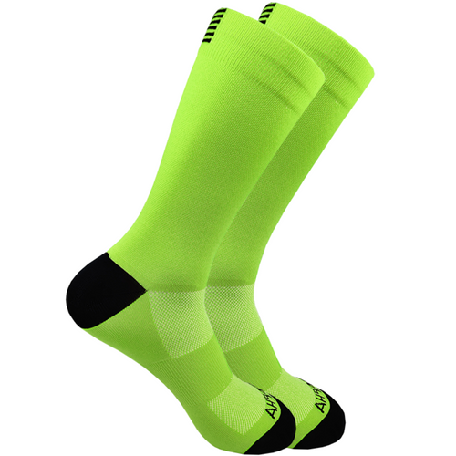 SqueezeGear Ankle Compression Socks (Green) - SqueezeGear