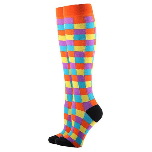 Patches Compression Socks for Men and Women 15-20 mmHg - SqueezeGear