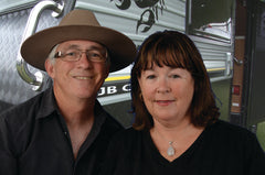 Caravanning DVD producers Sid & Sandie Whiting