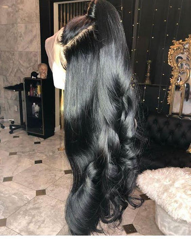Brazilian Virgin Human Hair wigs Body Wave Lace Frontal Wigs 130Density 100% Unprocessed BrazilainRemy HumanHair Body Wave Lace Front Wigs