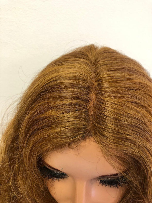 "Blond Swiss Lace Front Wig 30"" 1218 1"