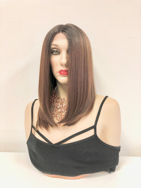 "Dark Ash Blond Lace Front Wig | 16"" 1118"