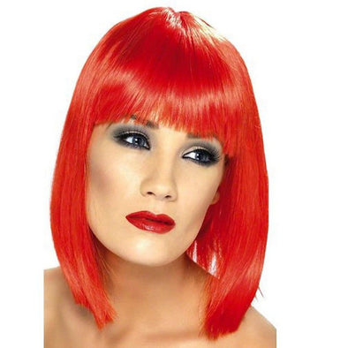 Red Wigs Lace Frontal Wigs Copper Red Highlights Red 360 Lace Front Wig Long Red Hair Gray Wigs For African American Women Kids Pink Wig