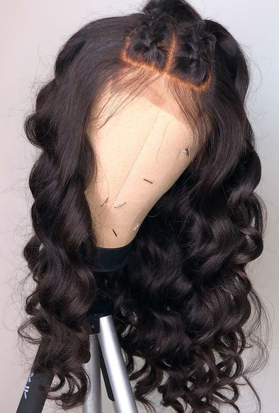 Curly Wigs Lace Frontal Long Black Wigs Raca Wig Side Part Frontal With Curls Ombre Lace Front Wig Human Hair Short Brown Wig
