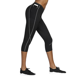 Weight Loss Calorie Burning Thigh Fat Burning Sweat Sauna Capri Pants