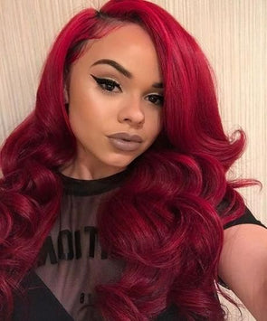 Red Wigs Lace Frontal Wigs Caramel Red Hair Purple Braided Wig Long Orange Wig Gray Synthetic Wigs Kylie Red Hair