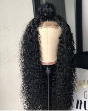 Curly Wigs Lace Frontal Long Black Wigs Kokichi Ouma Wig Cambodian Loose Wave Human Hair Straight Bundles Medium Curls