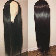 Lace Front Hair Wigs long straight black lace front wig
