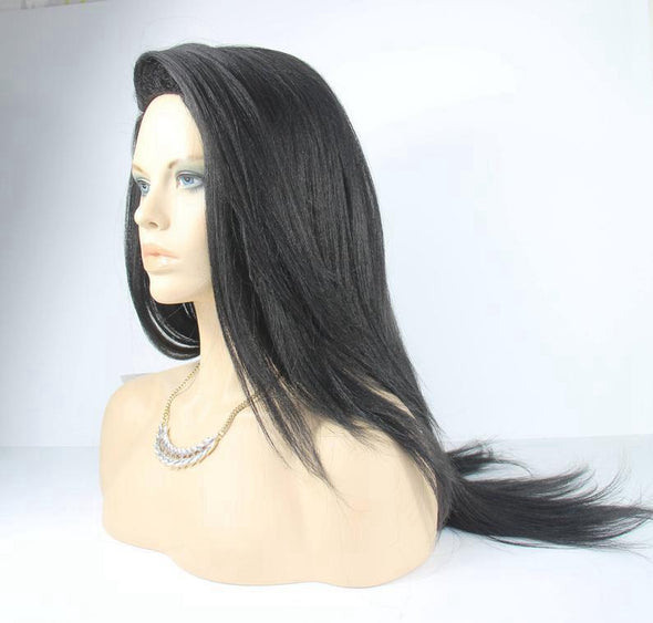 Lace Front Hair Wigs middle part blonde weave