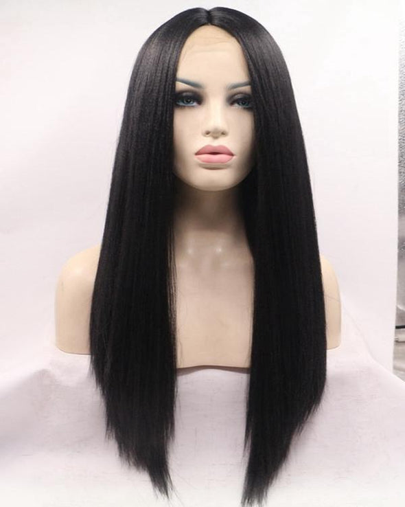 Lace Front Hair Wigs red black wig
