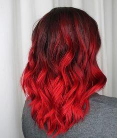 red brown hair red purple ombre hair flame red hair colour fire red hair pravana 6.66 mahogany red hair color
