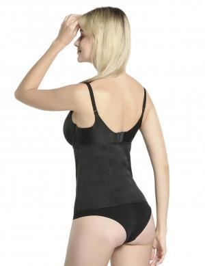 Body Shaper Streamlining Black Waist Slimmer Plus Size Garment