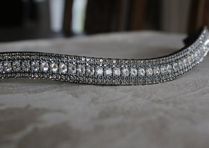Clear, nightfall and black diamond curve megabling browband