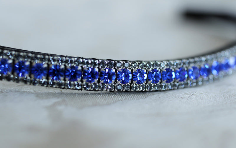 Sapphire and nightfall browband
