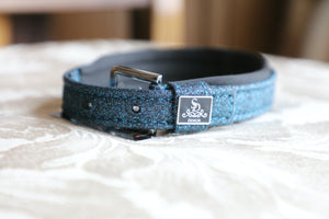 SD Design Glitter Dog Collar in Blue lagoon