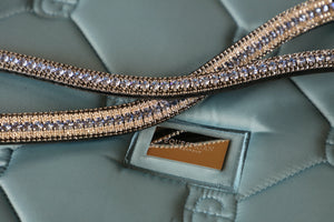 Light Sapphire, clear and nightfall megabling curve browband