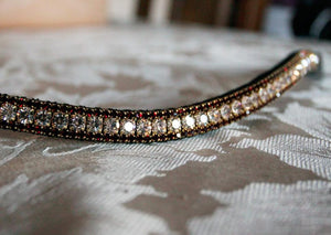 Custom 2 coloured browband