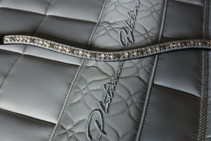 Swarovski Champagne and clear browband