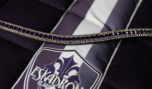 Purple velvet and Velvet browband